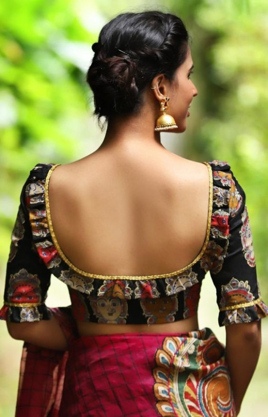 50+ Latest New Front and Back Saree Blouse Designs For