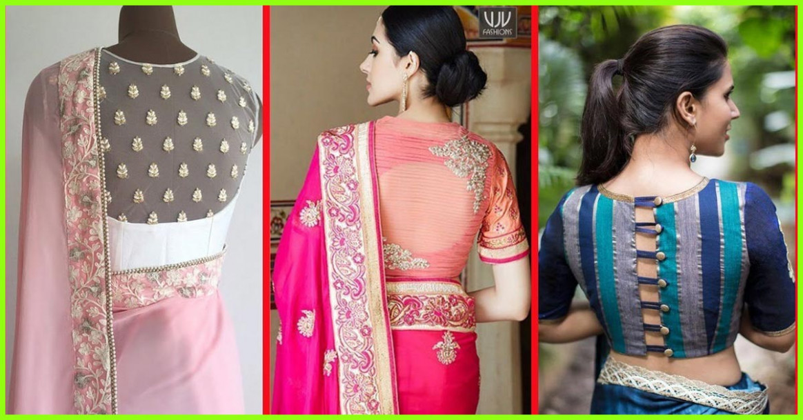50 Latest Saree Blouse Designs For 2019 That Will Amaze You