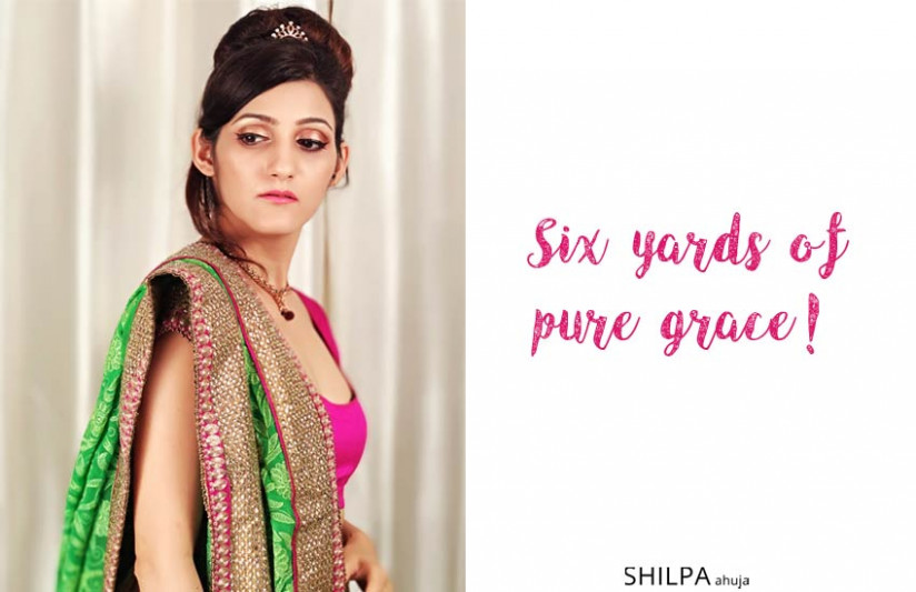 50 Saree Quotes for Instagram: Caption for Traditional