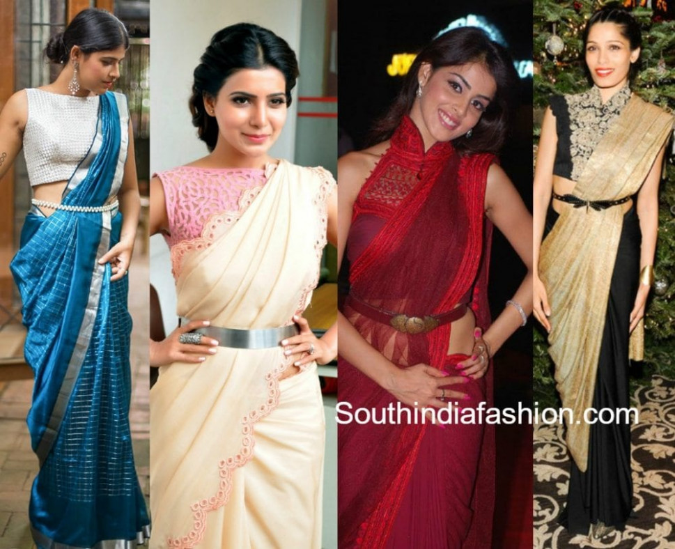 6 Amazing Ways To Style Your Sarees – South India Fashion