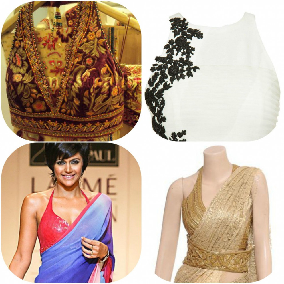 7 Blouse Necklines to wear with your Sarees   G3Fashion.com