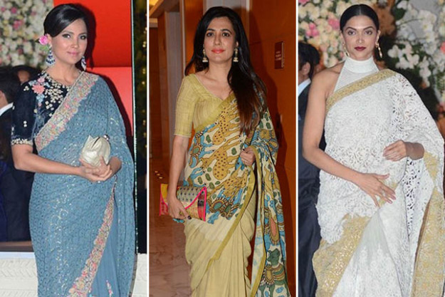 7 Bollywood Celebrity Sarees We Loved This Week  The