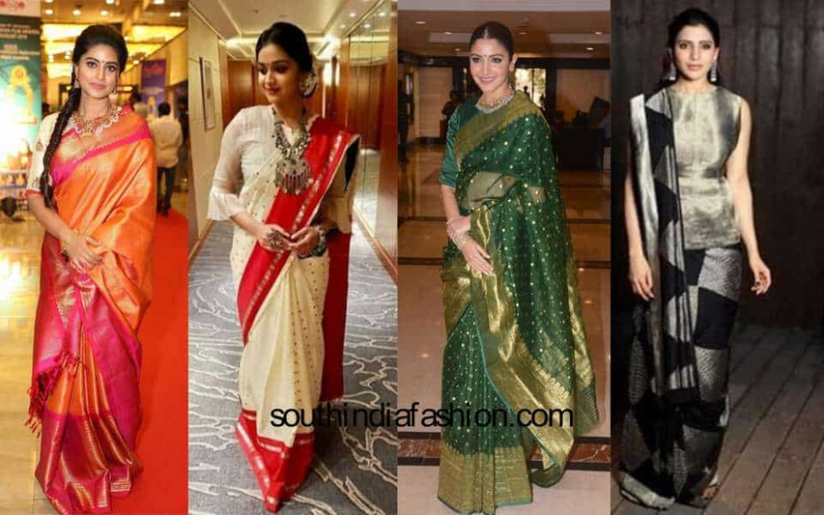 9 Much Talked About Celebrity Saree Looks That We Saw In