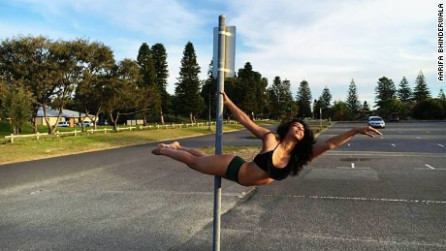Aarifa Bhinderwala: India's pioneering pole dancer - CNN