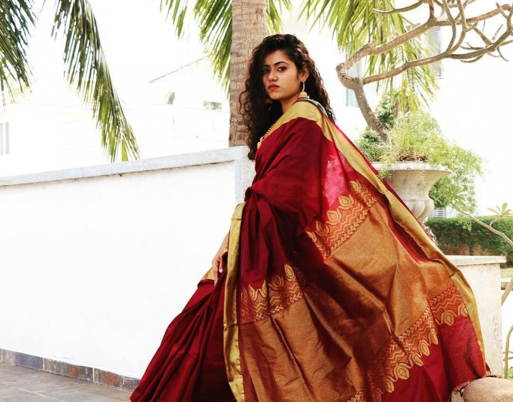 Adorable Handcrafted Sarees to Wear This Year  Stylish