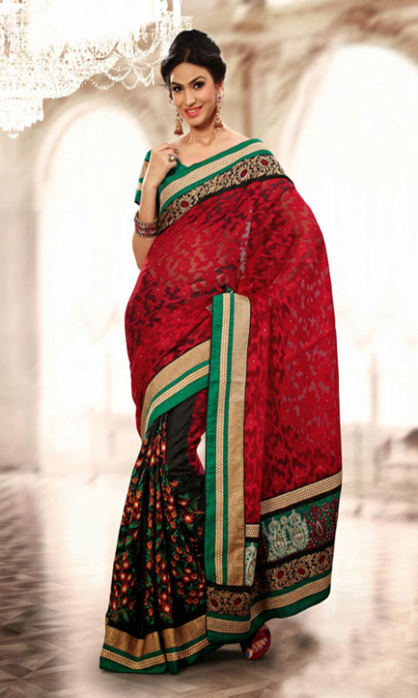 Amazon.com: Party Wear Saree Designs For Indian Girls Vol