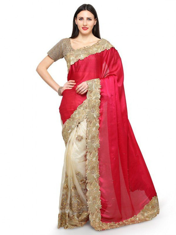 amazon saree sale  Chiffon saree, Saree sale, Saree