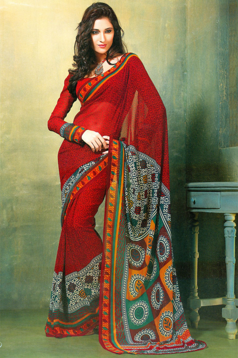 Artist Today: Latest Printed Sarees Designs