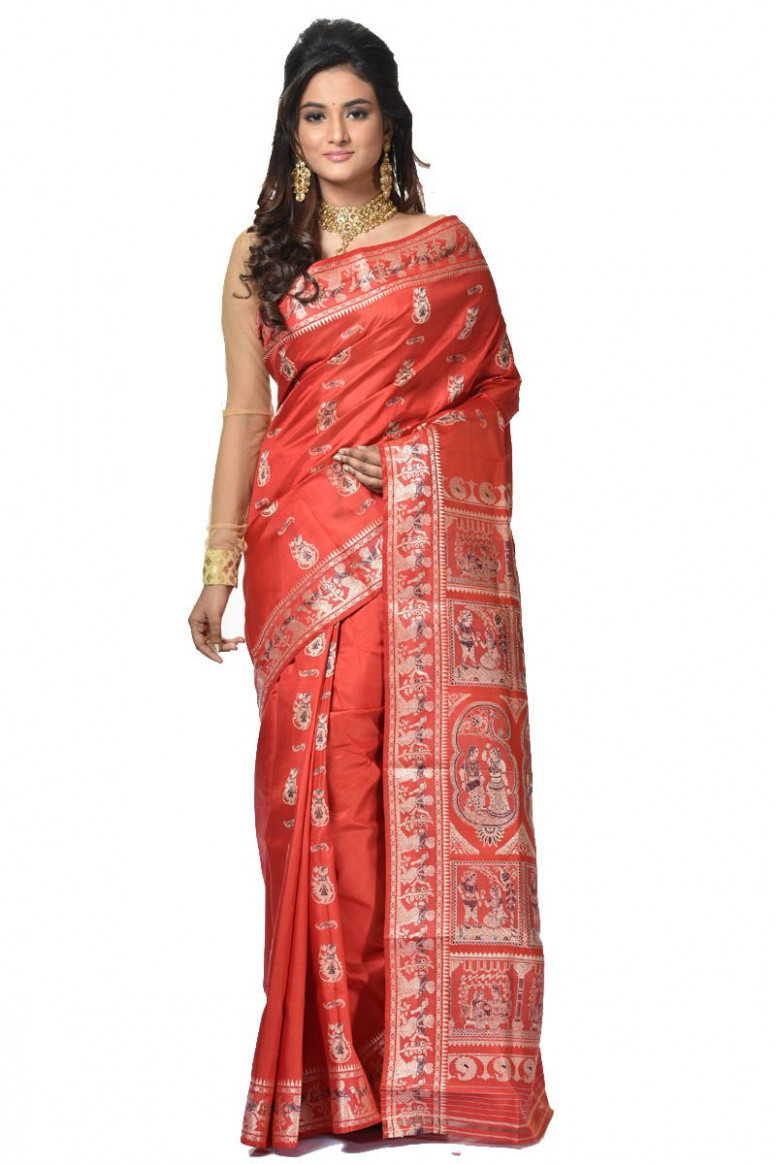 Baluchari Silk Saree (adi32935)