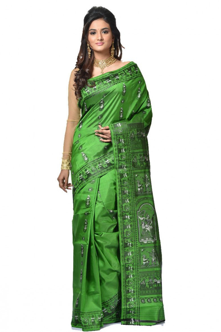 Baluchari Silk Saree (adi32937)
