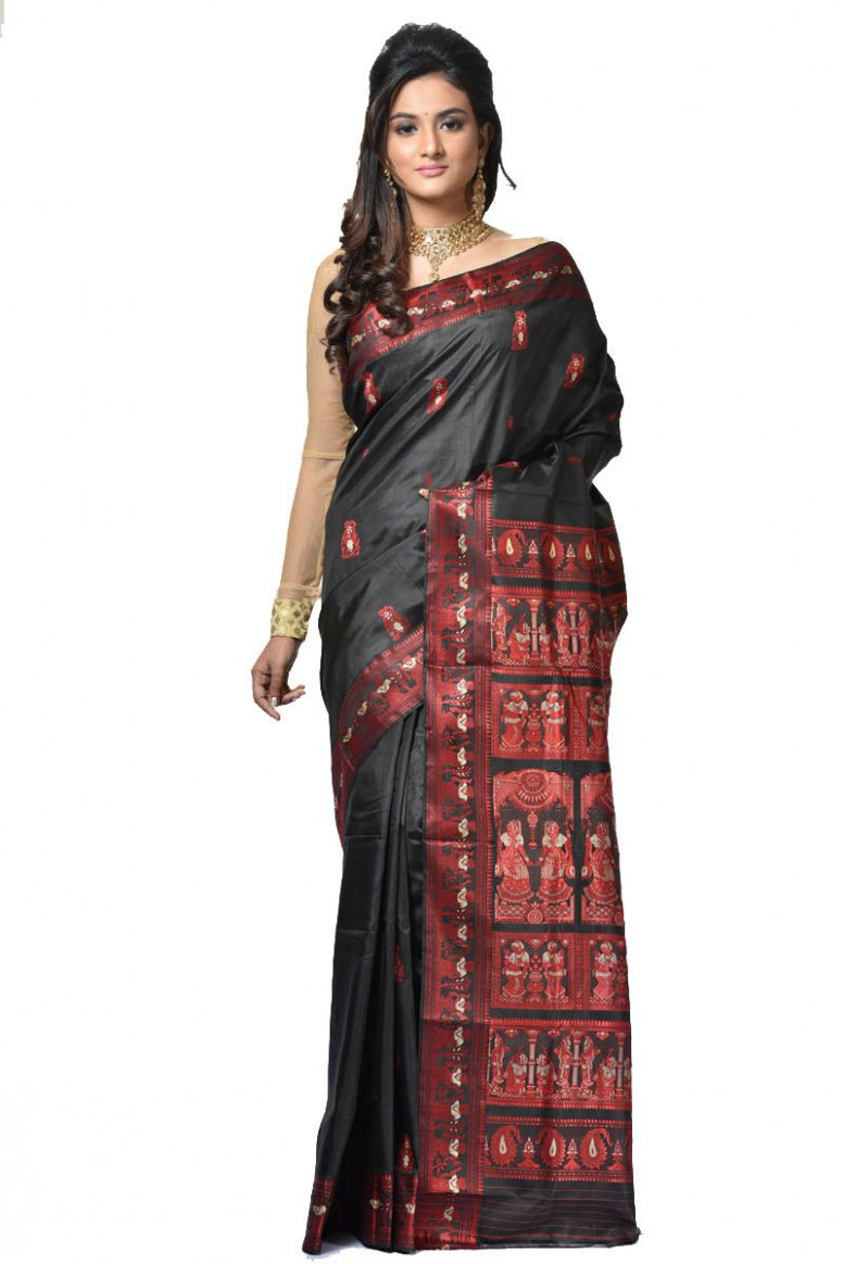 Baluchari Silk Saree (adi32956)