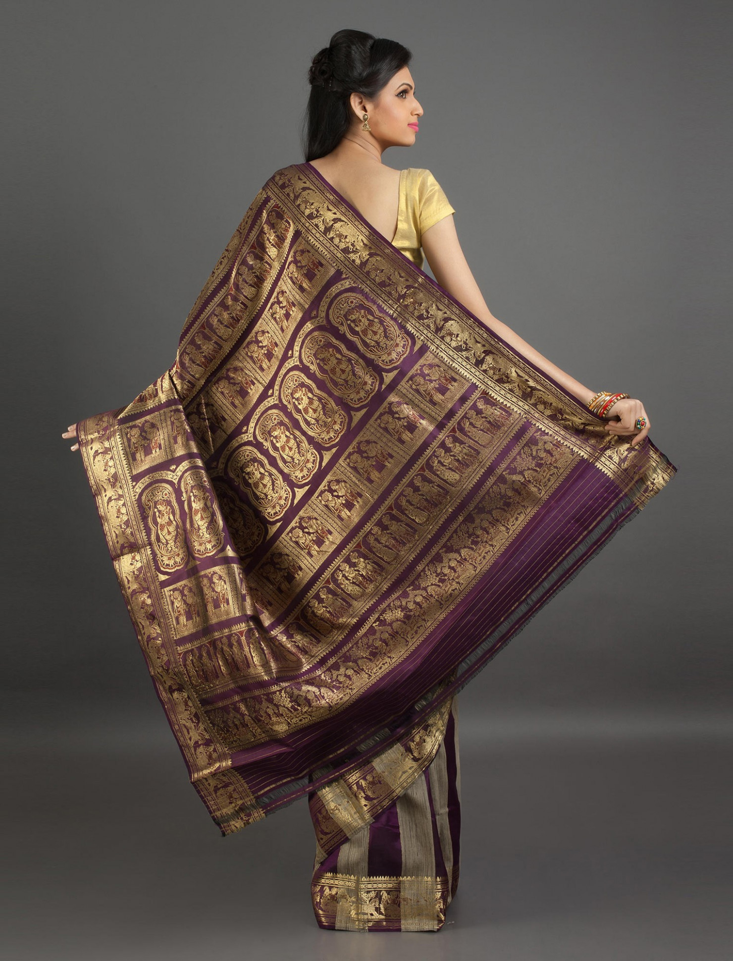 Baluchari Silk Sarees - Sarees from West Bengal — G3+ Fashion