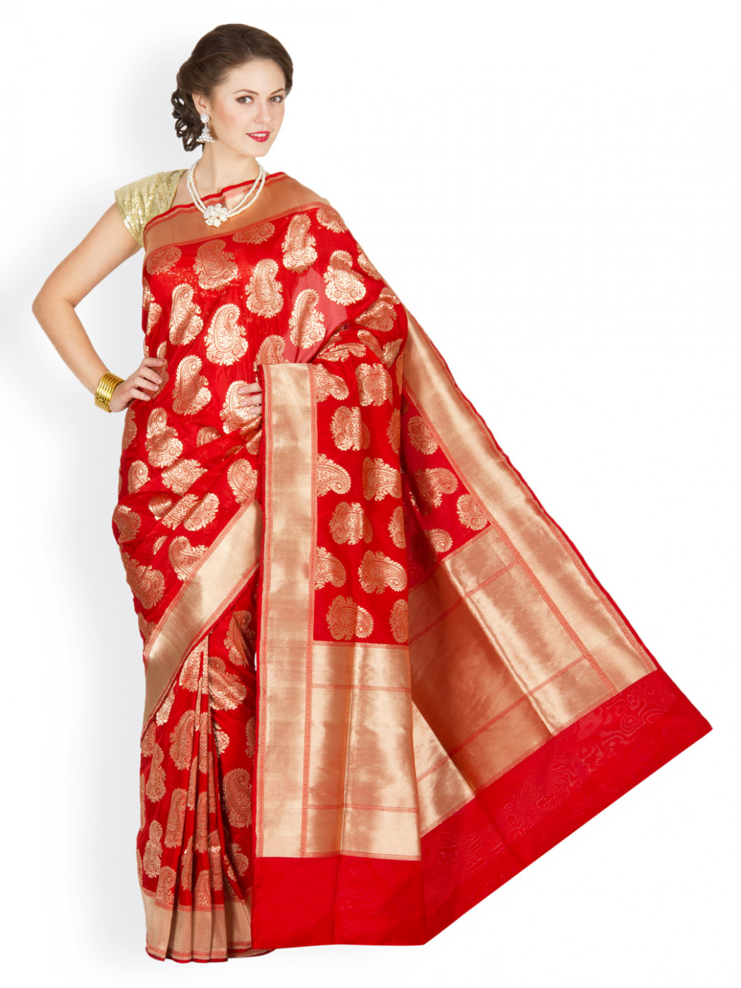 Banarasi Sarees – A Must Have In The Wedding Trousseau