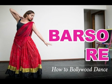 Barso Re (Guru)  How to Bollywood Dance-Tutorial