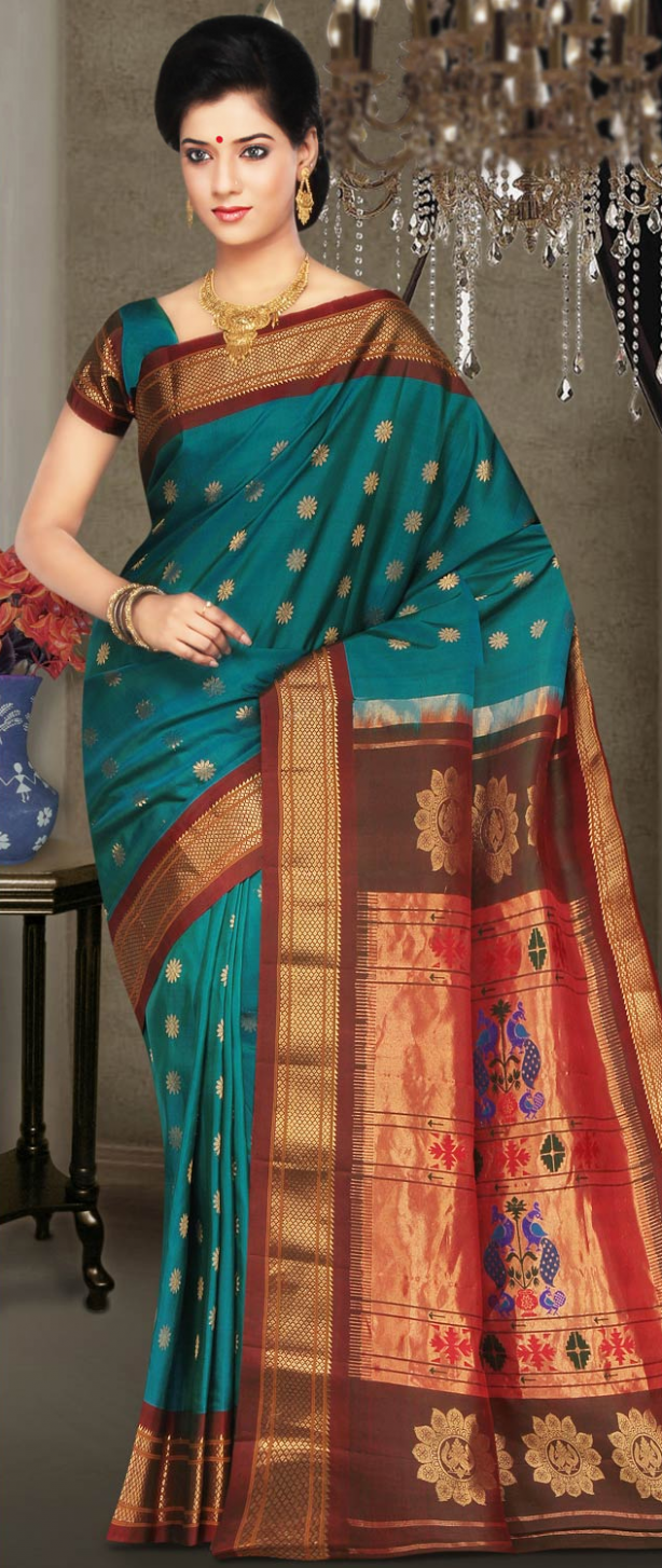 Beauty of Indian Paithani Sarees  Indian Fashion Trend