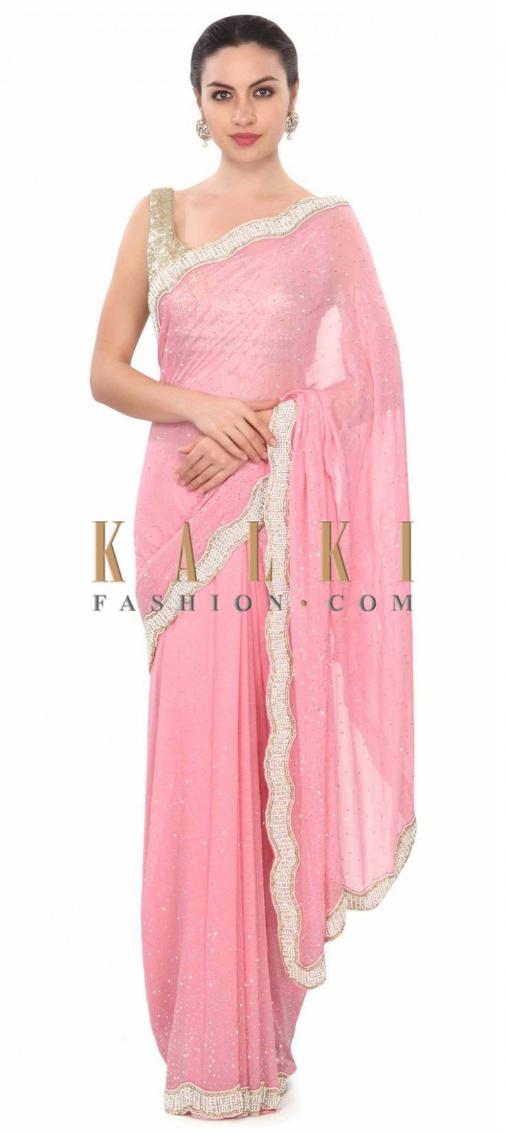 Best 25+ Pink saree ideas on Pinterest  Casual indian
