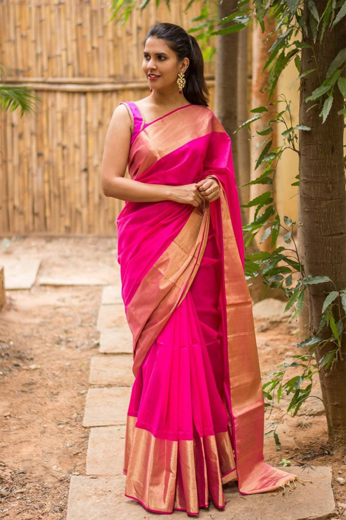 Best 25+ Pink saree ideas only on Pinterest  Beautiful