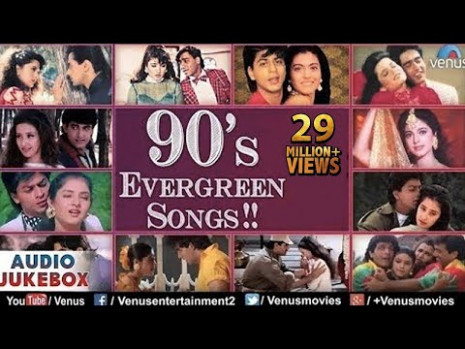 Bollywood 90's Evergreen Songs  Jukebox  Superhit Hindi