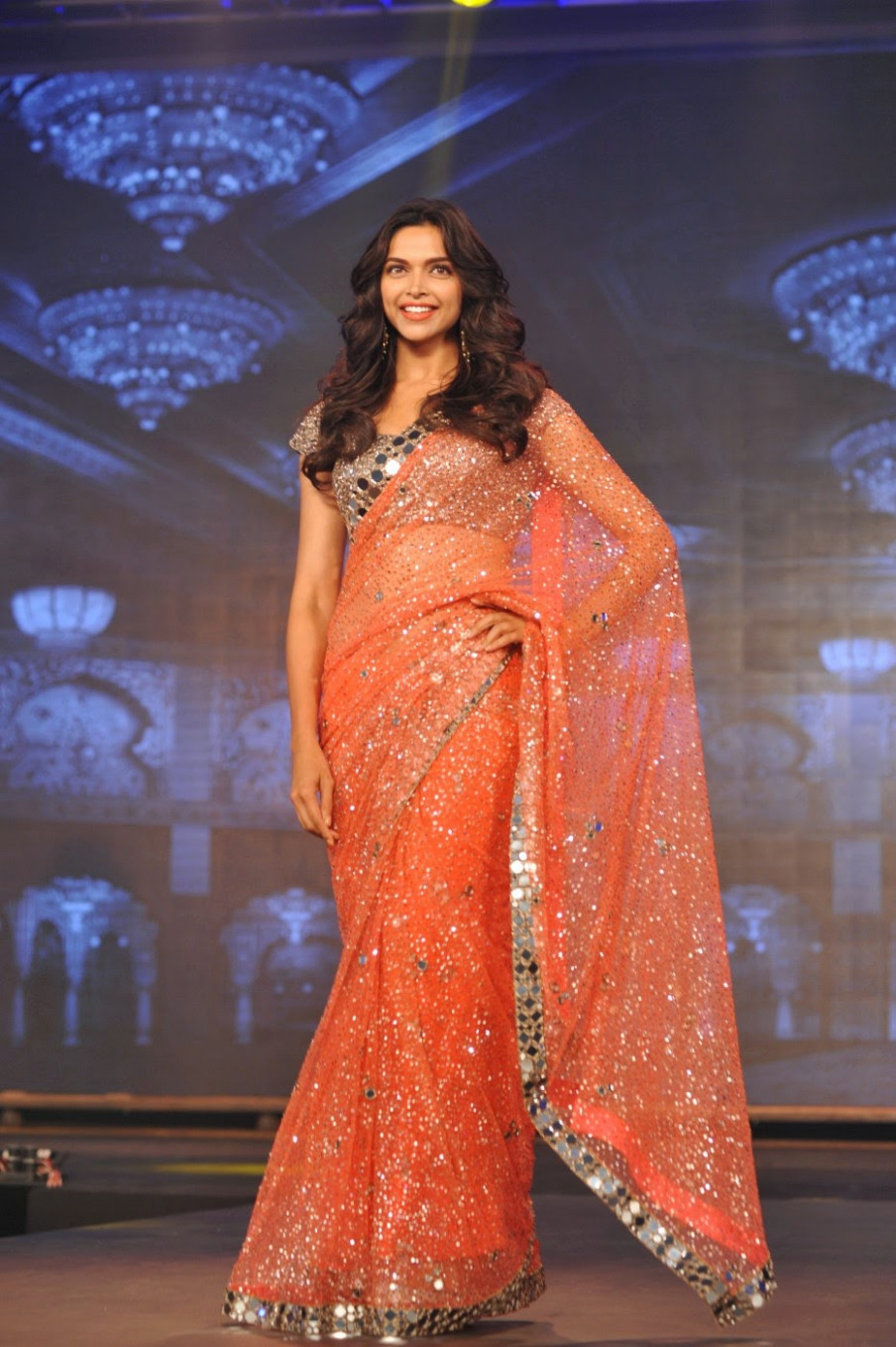 Bollywood Actress Saree Collections: Happy New Year
