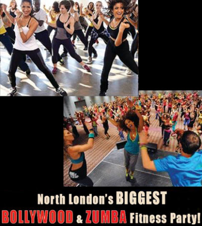 Bollywood & Zumba 3hrs -The Biggest Dance Fitness Party