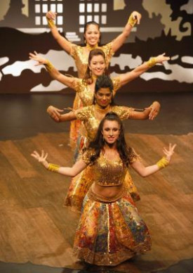 Bollywood Dance Exercises - Woman