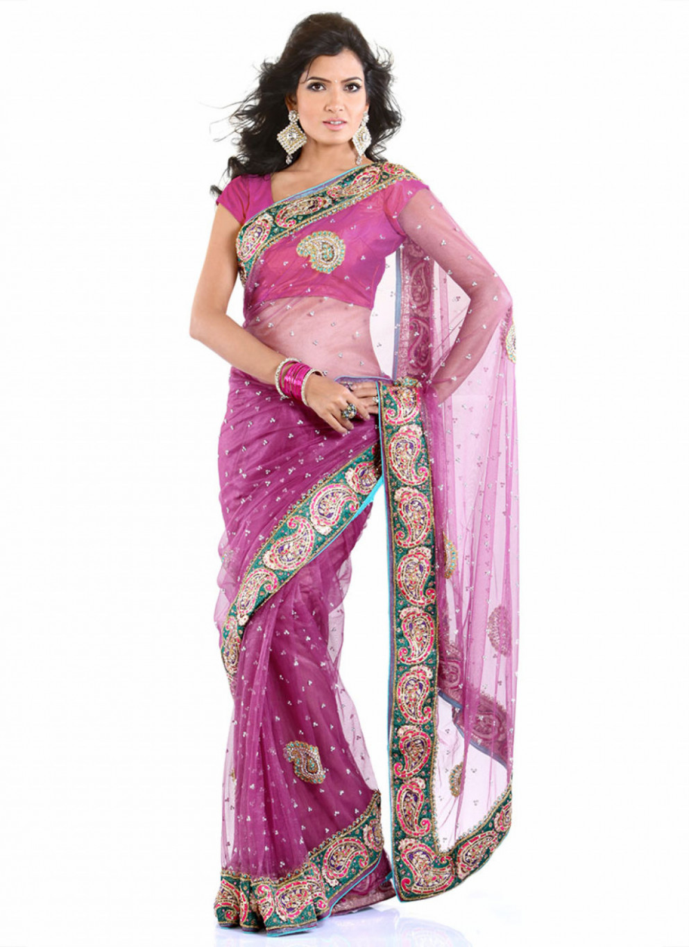 Bollywood Inspired Fashions by Cbazaar: Sarees, Lehengas