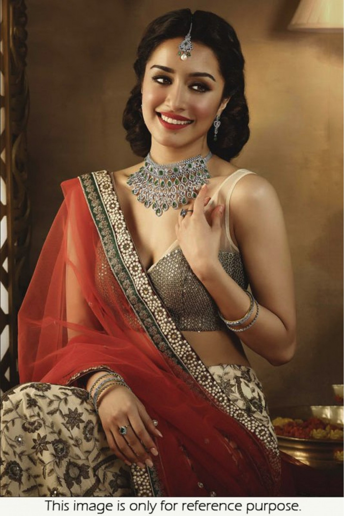 Bollywood Style Shraddha Kapoor 60 Gram Georgette Saree In