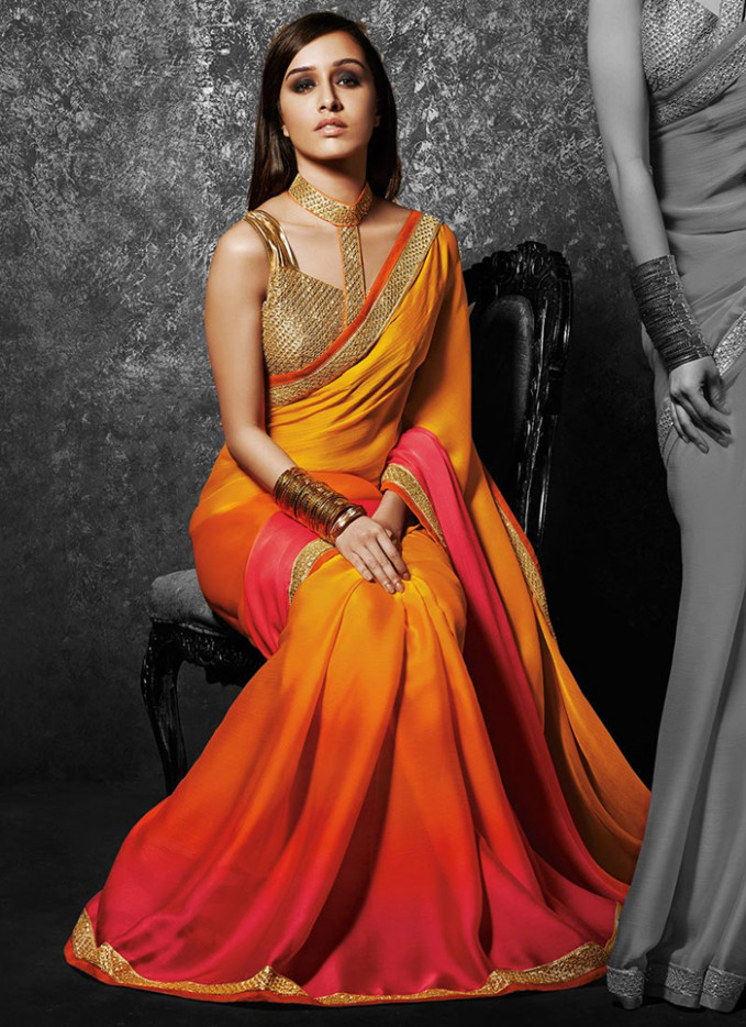 Bridal Cocktail Party Sarees for a Stylish Evening - Blog