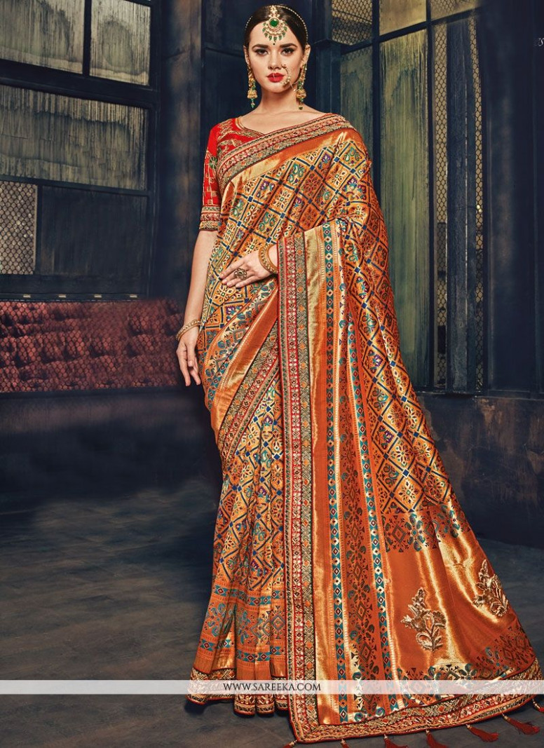 Buy Designer Traditional Saree For Wedding : 70788