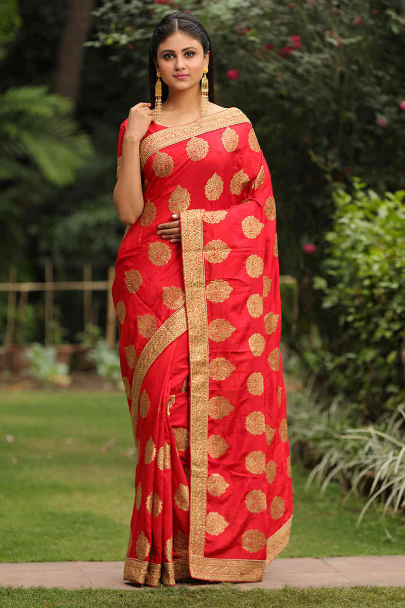 Buy Latest Designer Sarees for Women Online - Mohey Collection