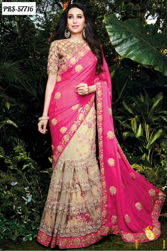 Buy Latest Trendy Designer Bollywood Sarees Online In