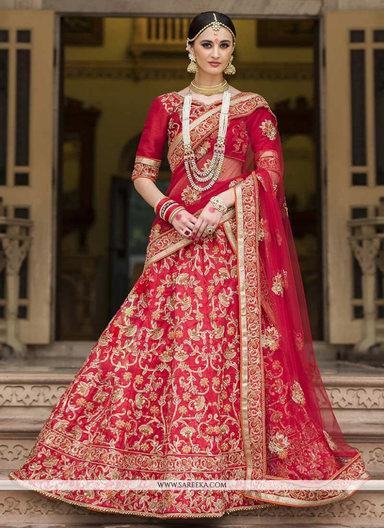 Buy Lehenga Saree For Reception Online : Fiji