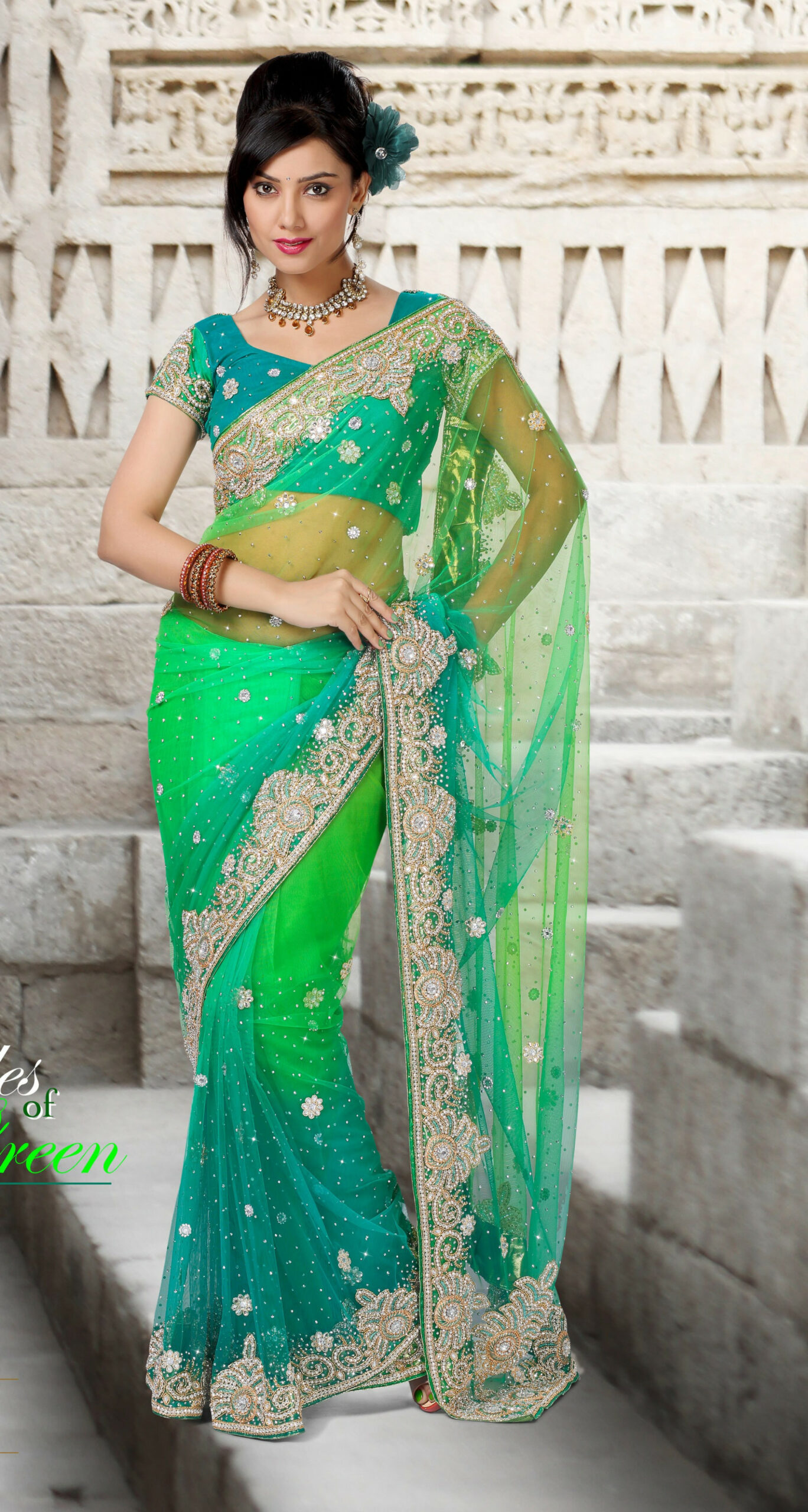 Buy Online Shopping Exclusive Heavy Work Designer Saree
