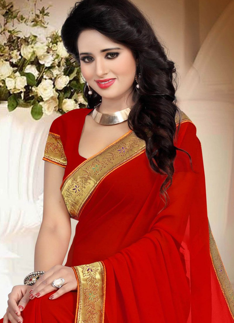 Buy Red Saree Online : South Africa