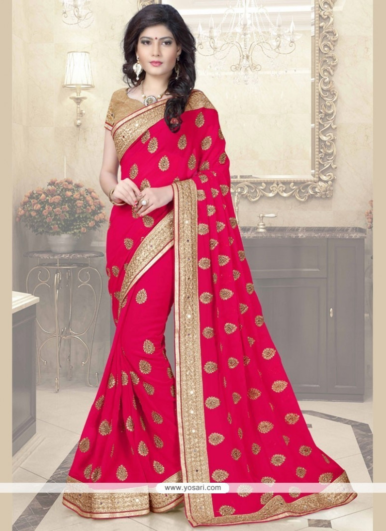 Buy Regal Mirror Work Classic Designer Saree  Wedding Sarees