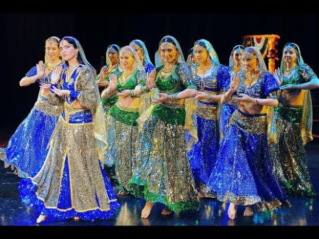 Chammak Challo, Indian Dance Group Mayuri, Russia