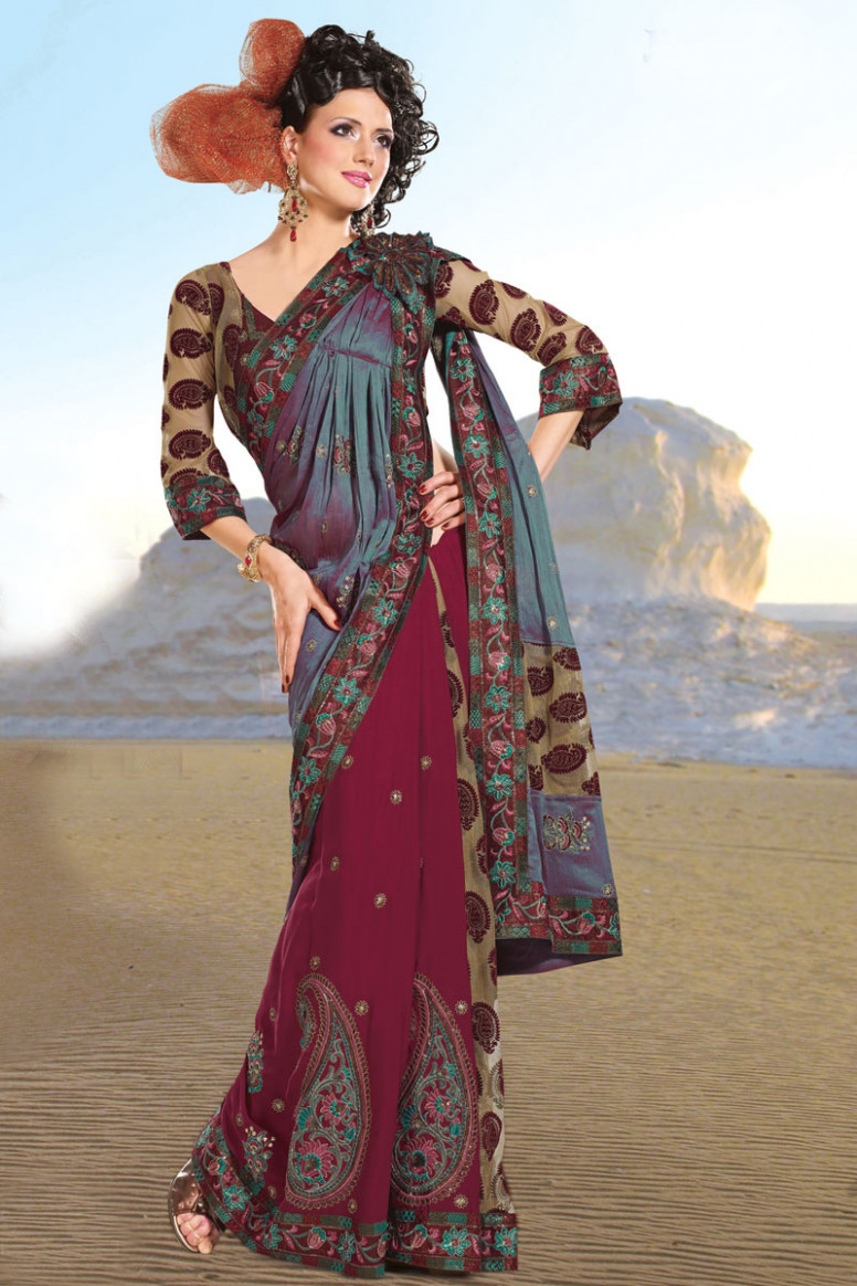 Check out the Latest Saree Trends for 2011 – Designer