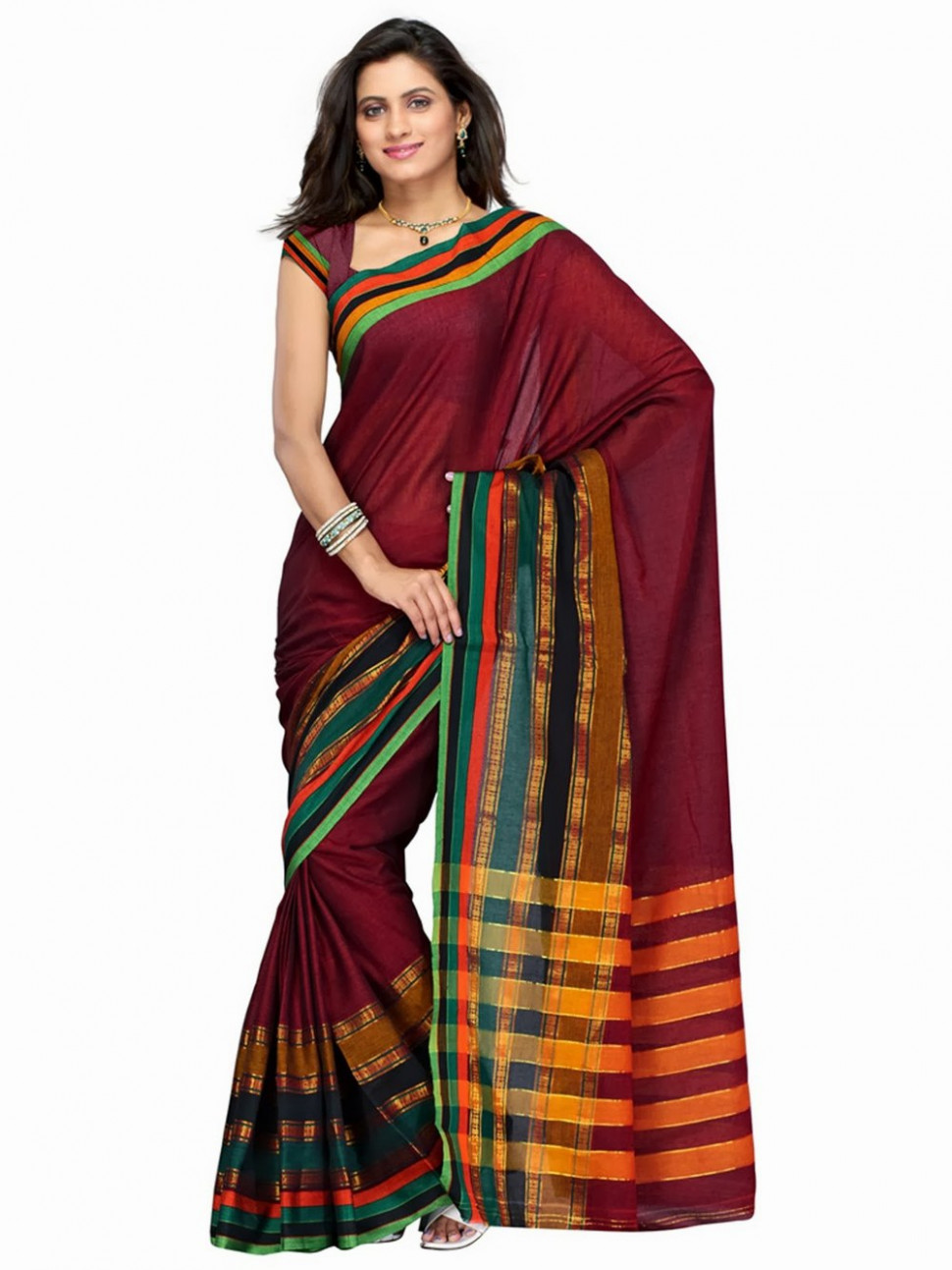 Cotton Handloom Saree - Buy The Chennai Silks Cotton
