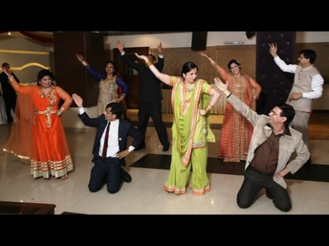 Couples Dance On Old Songs  Indian Wedding Dance