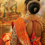 Creative Back Neck Designs For Silk Saree Blouses • Keep
