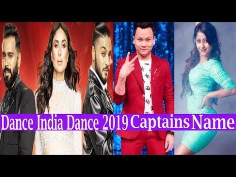 Dance India Dance 2019 Coaches  Captains of DID Battle of