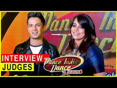 Dance India Dance 6 Judges Mudassar Khan & Mini Pradhan