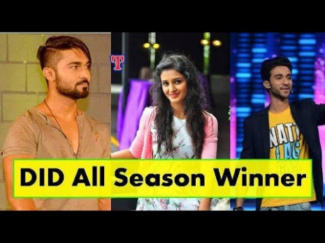 Dance India Dance All Season Winners Name List With Photo