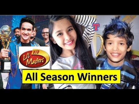 Dance India Dance Li'l Masters 2018  Winners List of All
