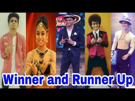 Dance India Dance Season 6 Winner and Runner Up 1st, 2nd