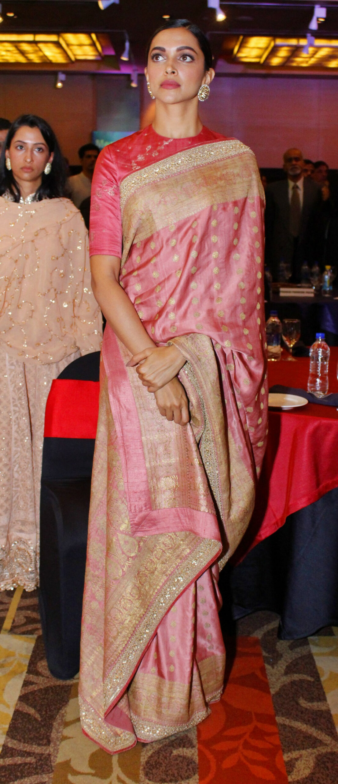 Deepika Padukone turns heads at the capital in this