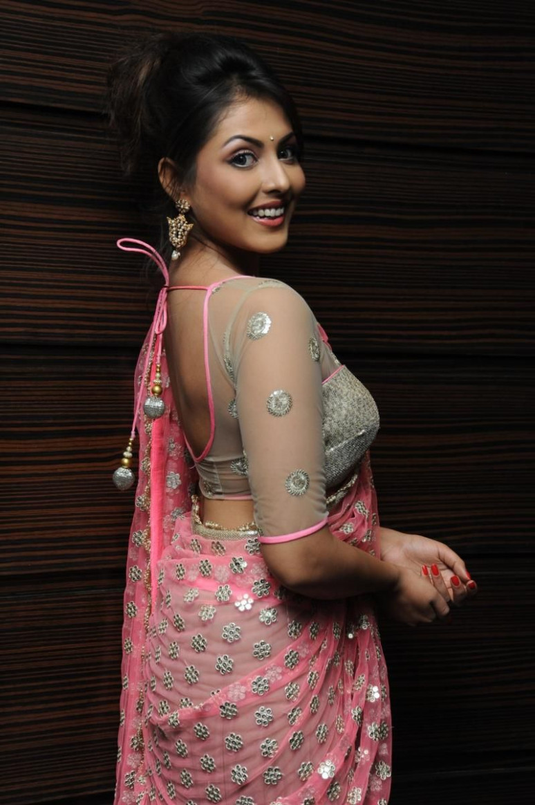 Designer saree and blouse. What to wear to an Indian