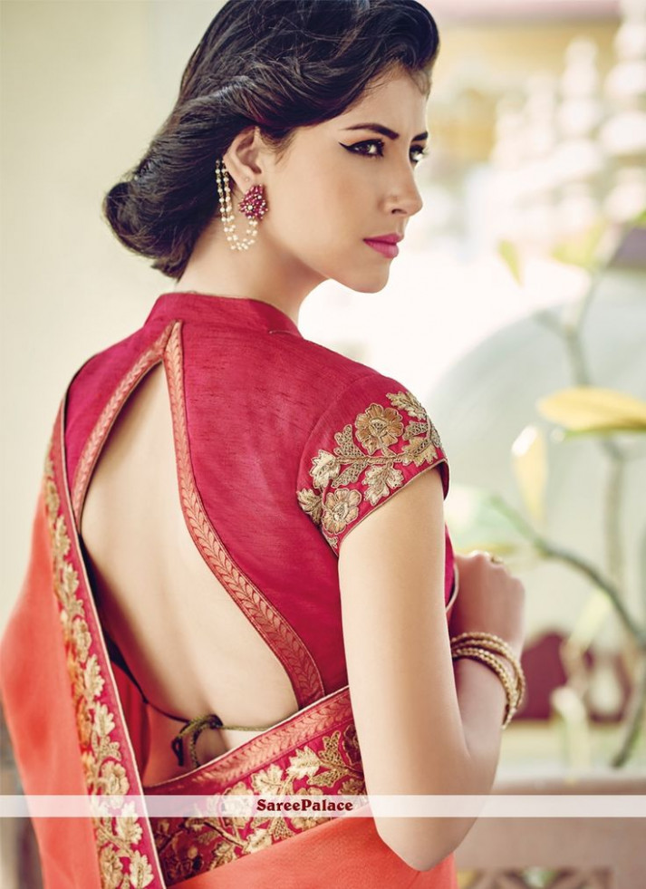 Designer Sarees for a Fashionable You - modern sharee ghor
