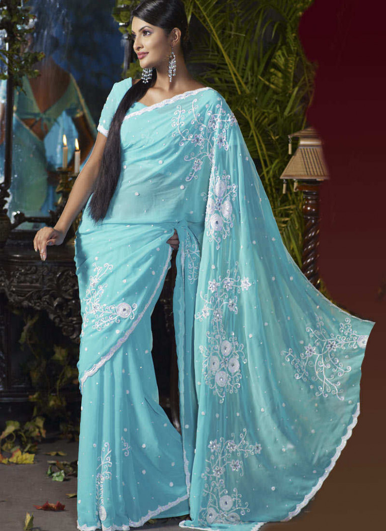 Designer Sarees for Girls