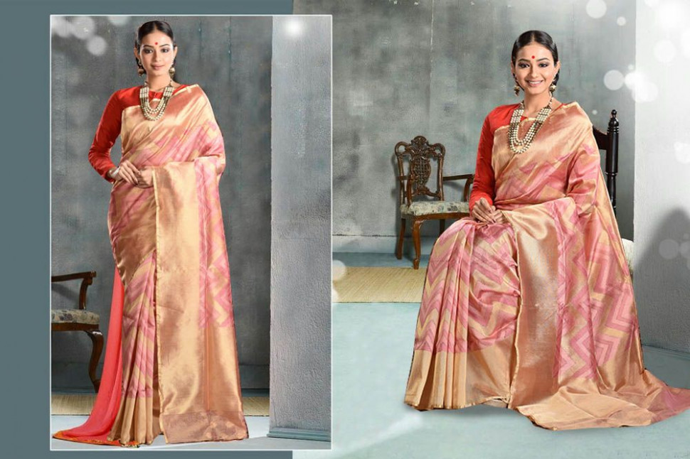 Designer Tissue Silk Saree (adi13831)